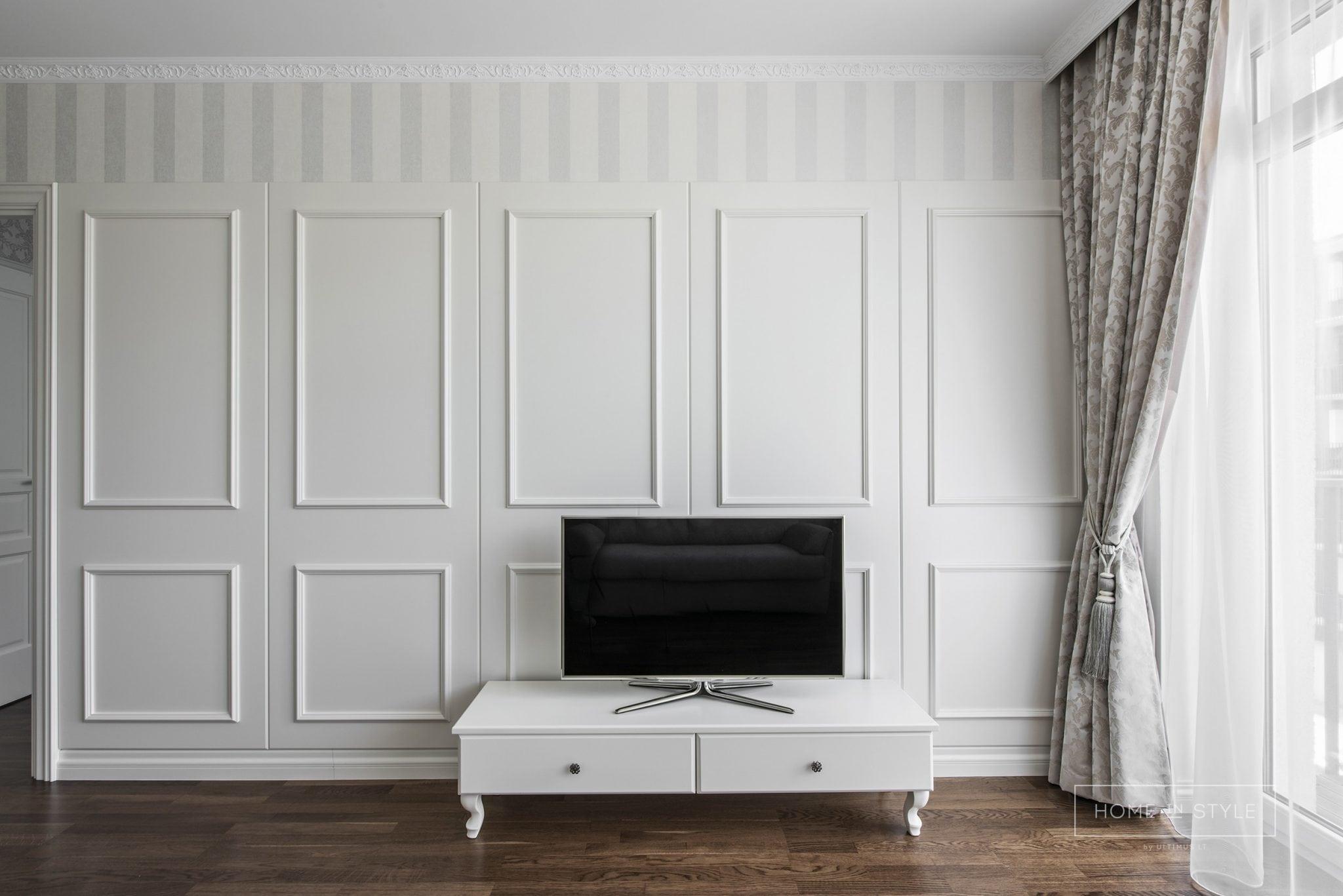Klasikinis interjeras svetaines baldu gamyba Home in style