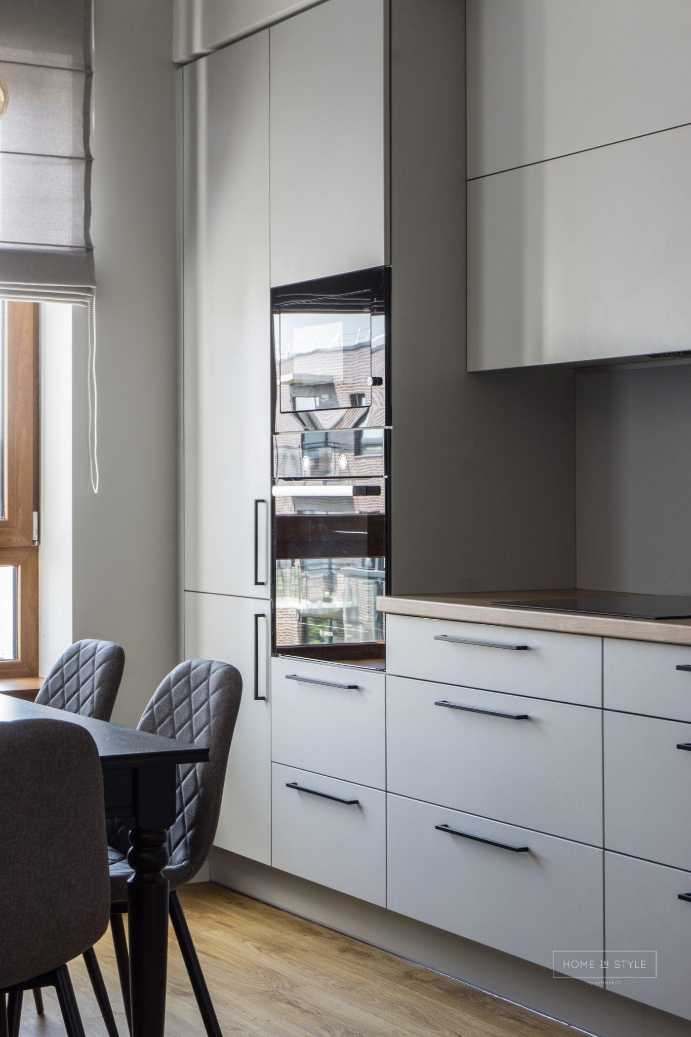 Virtuves baldai interjero projektu igyvendinimas