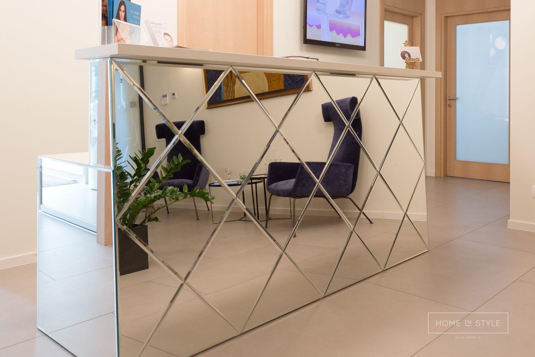 Biuro baldu gamyba registraturos baldai