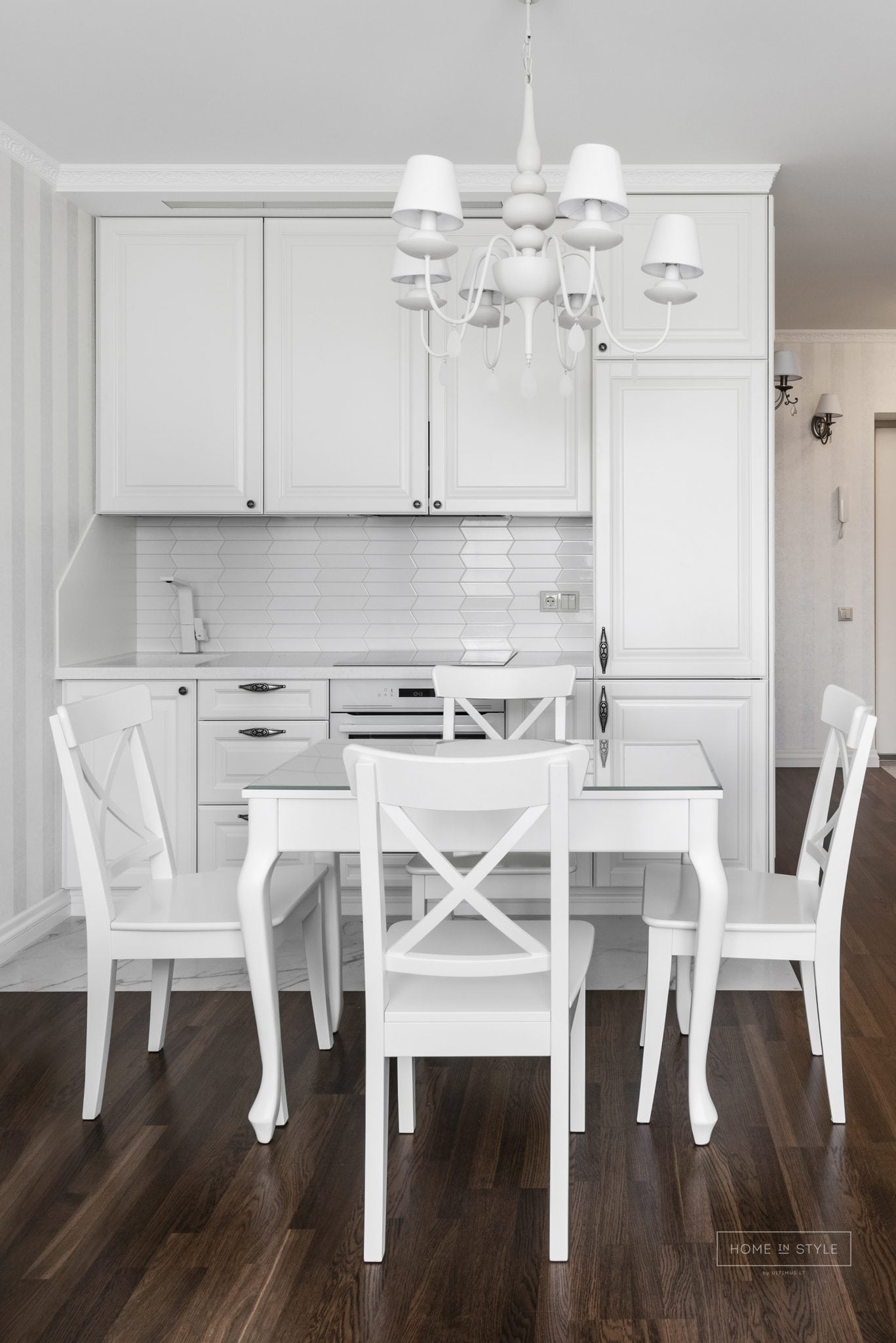 Klasikinis interjeras virtuves baldu gamyba projektas Ulvydo