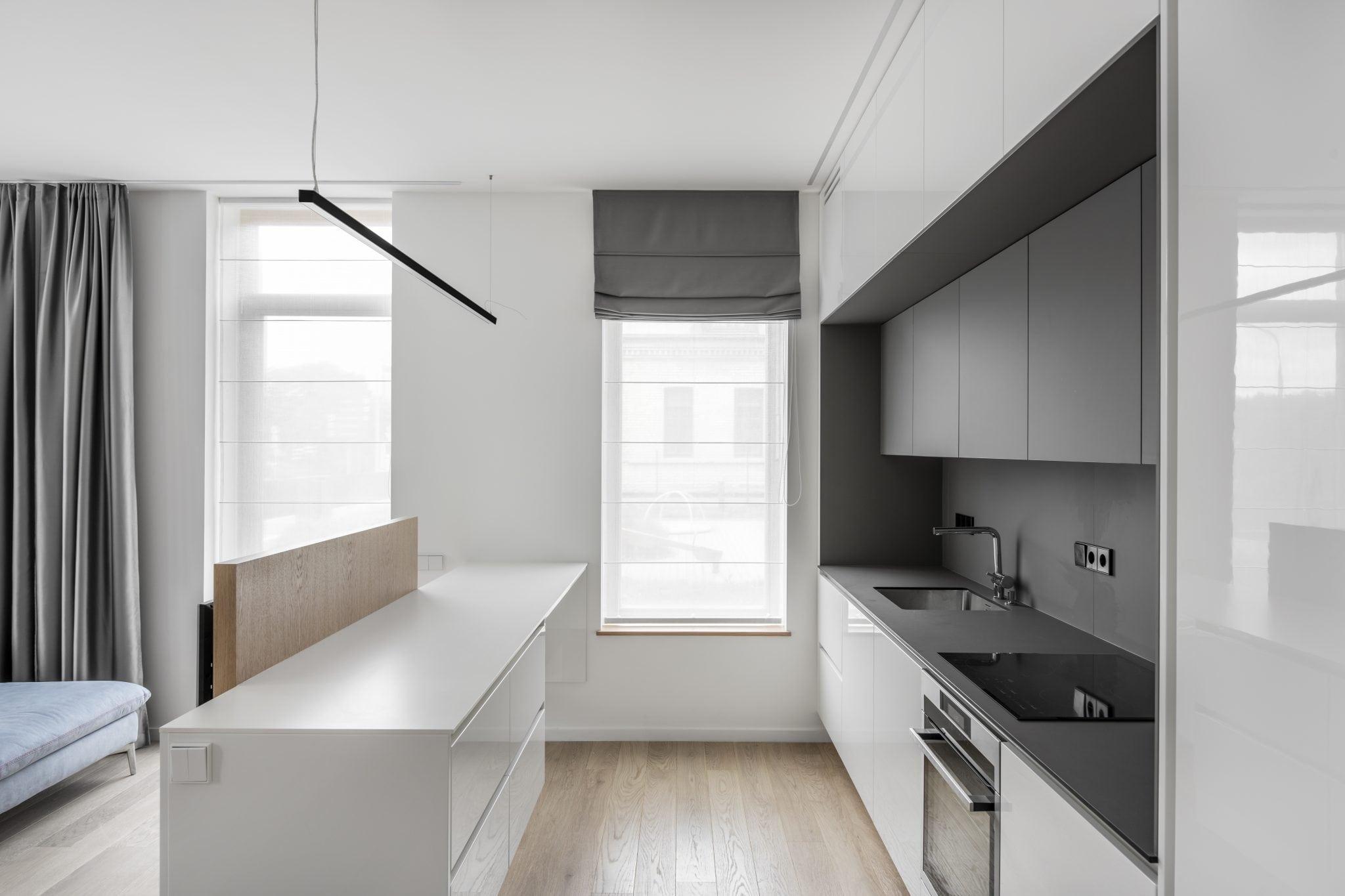 Baldu gamyba modernus virtuves baldai Žverynas